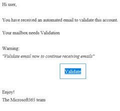 fake email validation
