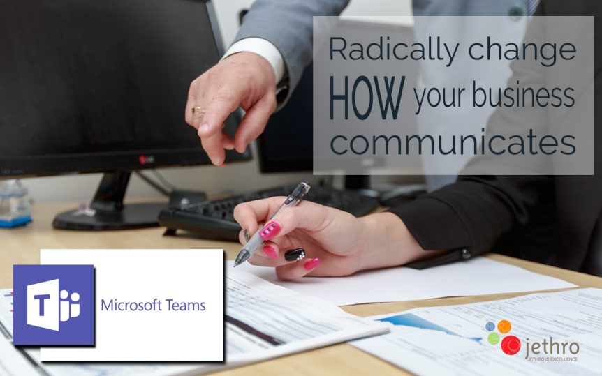 Radical changes with Microsoft Teams